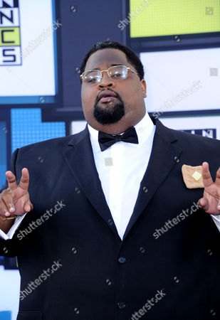 "Stock Photo of Gamal ""LunchMoney"" Lewis arrives at the Latin American Music Awards at the Dolby Theatre, in Los Angeles"