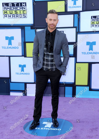 Luis Ernesto Franco arrives at the Latin American Music Awards at the Dolby Theatre, in Los Angeles