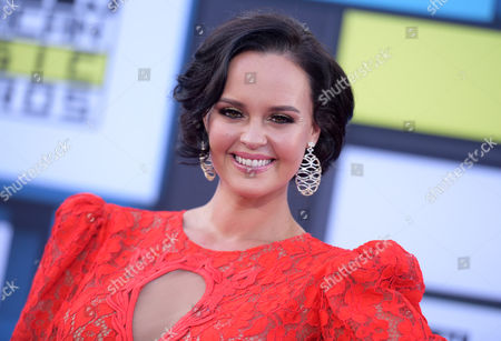 Shaila Durcal arrives at the Latin American Music Awards at the Dolby Theatre, in Los Angeles