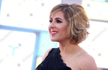 Stock Picture of Ana Maria Canseco arrives at the Latin American Music Awards at the Dolby Theatre, in Los Angeles