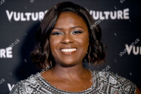 Deborah Joy Winans arrives at the New York Magazine and Vulture inaugural awards season party at the Sunset Tower Hotel, in Los Angeles