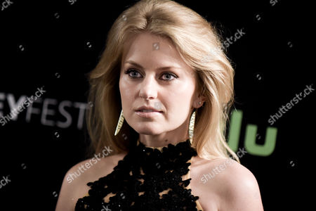 """Sarah Minnich attends the """"From Dusk till Dawn: The Series"""" screening and panel discussion at the 2016 PaleyFest Fall TV Previews, in Beverly Hills, Calif"""