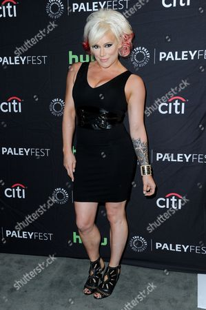 """Stock Image of Kira Forster attends the """"Lucha Underground"""" screening and panel discussion at the 2016 PaleyFest Fall TV Previews, in Beverly Hills, Calif"""