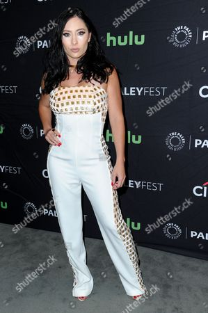 "Karlee Perez attends the ""Lucha Underground"" screening and panel discussion at the 2016 PaleyFest Fall TV Previews, in Beverly Hills, Calif"