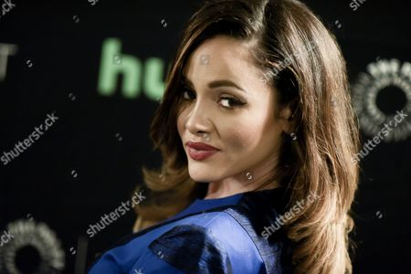 """Melissa Santos attends the """"Lucha Underground"""" screening and panel discussion at the 2016 PaleyFest Fall TV Previews, in Beverly Hills, Calif"""