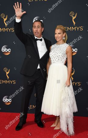 Editorial picture of 2016 Primetime Emmy Awards - Arrivals, Los Angeles, USA