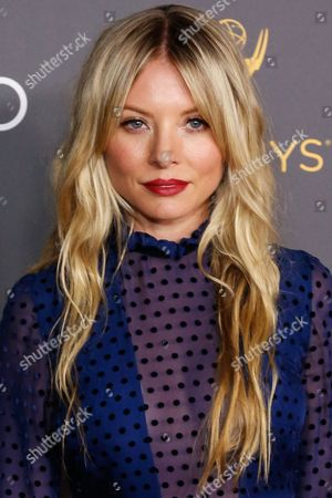 Kaitlin Doubleday arrives at the 2016 Primetime Emmy Awards Performer Nominees Reception at the Pacific Design Center, in West Hollywood, Calif