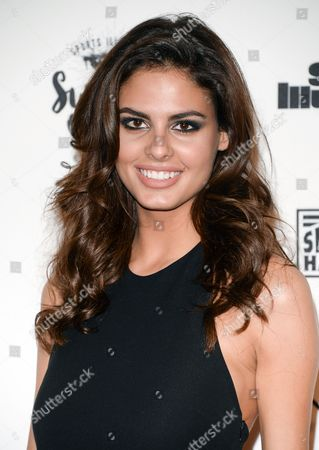 Model Bo Krsmanovic attends the 2016 Sports Illustrated Swimsuit Issue launch party at Brookfield Place on Tuesday, Feb, 16, 2016, in New York