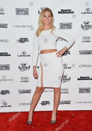 Model Erin Heatherton attends the 2016 Sports Illustrated Swimsuit Issue launch party at Brookfield Place on Tuesday, Feb, 16, 2016, in New York