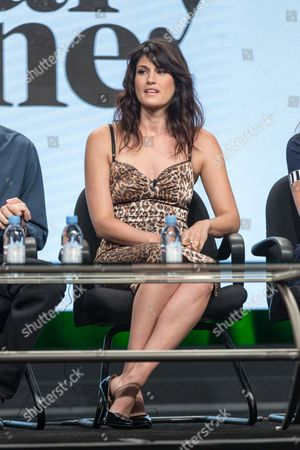 """Scout Durwood participates in the """"Mary + Jane"""" panel during the Viacom Networks Television Critics Association summer press tour, in Beverly Hills, Calif"""