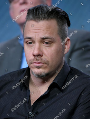 """Michael Raymond-James participates in the """"Game of Silence"""" panel at the NBCUniversal Winter TCA, Pasadena, Calif"""
