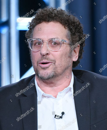 """Stock Picture of Creator/executive producer Adi Hasak participates in the """"Shades of Blue"""" panel at the NBCUniversal Winter TCA, Pasadena, Calif"""