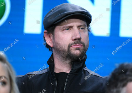 """Jamie Kennedy participates in the """"Heartbeat"""" panel at the NBCUniversal Winter TCA, Pasadena, Calif"""