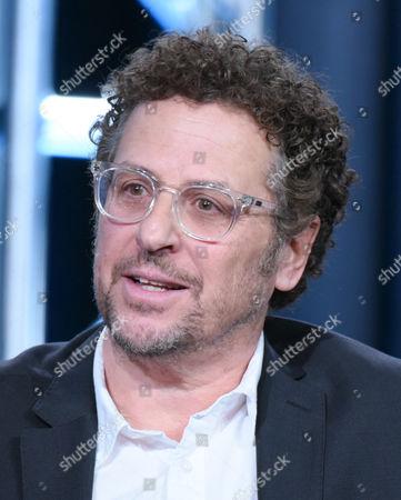 "Creator/executive producer Adi Hasak participates in the ""Shades of Blue"" panel at the NBCUniversal Winter TCA, Pasadena, Calif"