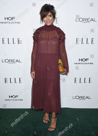 Christina Caradona arrives at the 23rd annual ELLE Women in Hollywood Awards at the Four Season Hotel, in Los Angeles