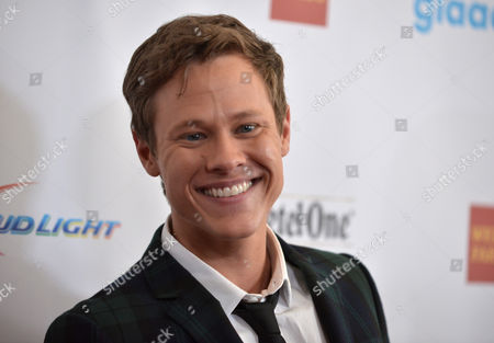 Guy Wilson arrives at the 25th Annual GLAAD Media Awards on Richard Shotwell/Invision/AP