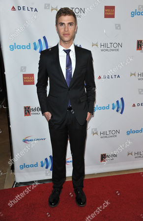 Shane Bitney Crone arrives at the 25th Annual GLAAD Media Awards on Richard Shotwell/Invision/AP