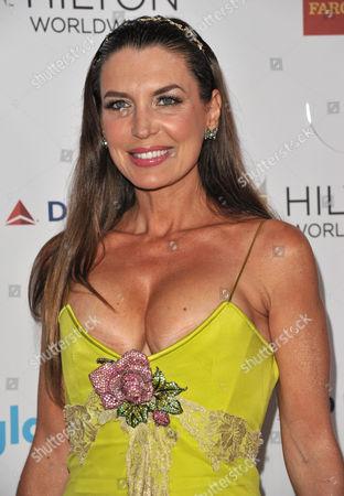Sandra Vidal arrives at the 25th Annual GLAAD Media Awards on