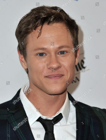 Stock Photo of Guy Wilson arrives at the 25th Annual GLAAD Media Awards on Richard Shotwell/Invision/AP