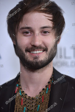 Brad Bell arrives at the 25th Annual GLAAD Media Awards on