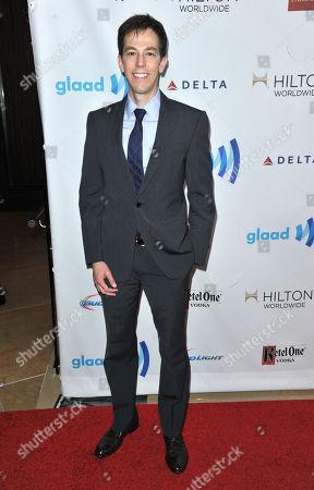 Josh Berman arrives at the 25th Annual GLAAD Media Awards on