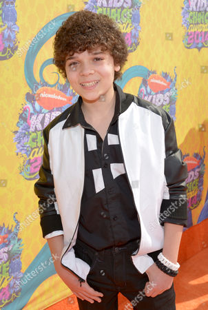 Cameron Ocasio arrives at the 27th annual Kids' Choice Awards at the Galen Center, in Los Angeles