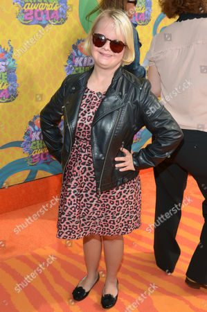 Stock Picture of Lauren Elizabeth Potter arrives at the 27th annual Kids' Choice Awards at the Galen Center, in Los Angeles