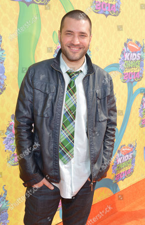 Zoran Korach arrives at the 27th annual Kids' Choice Awards at the Galen Center, in Los Angeles