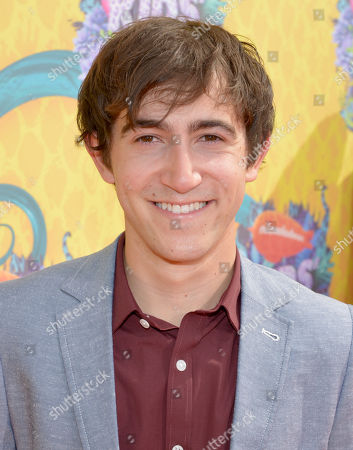 Vincent Martella arrives at the 27th annual Kids' Choice Awards at the Galen Center, in Los Angeles