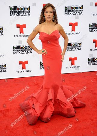Azucena Cierco arrives at the 3rd Annual Billboard Mexican Awards at The Dolby Theatre on in Los Angeles