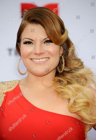 Stock Image of Diana Reyes arrives at the 3rd Annual Billboard Mexican Awards at The Dolby Theatre on in Los Angeles