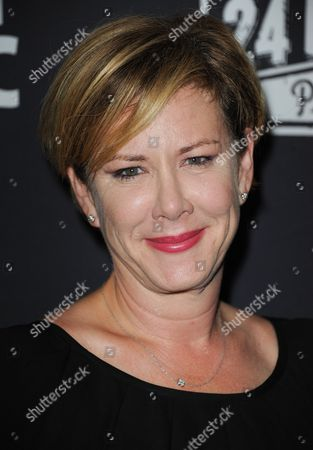 Romy Rosemont arrives at the 3rd Annual Production of The 24 Hour Plays in Los Angeles After Party at The Shore Hotel on in Santa Monica, Calif