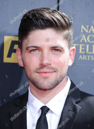 Stock Picture of Robert Adamson arrives at the 42nd annual Daytime Emmy Awards at Warner Bros. Studios, in Burbank, Calif