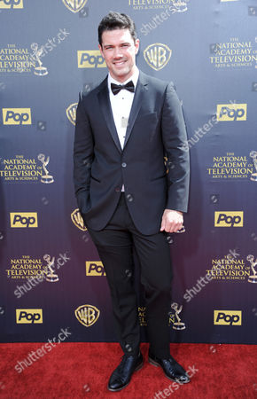 Ryan Paevey arrives at the 42nd annual Daytime Emmy Awards at Warner Bros. Studios, in Burbank, Calif