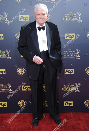 John Aniston arrives at the 42nd annual Daytime Emmy Awards at Warner Bros. Studios, in Burbank, Calif