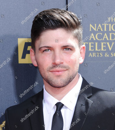 Stock Image of Robert Adamson arrives at the 42nd annual Daytime Emmy Awards at Warner Bros. Studios, in Burbank, Calif