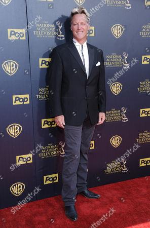 Matthew Ashford arrives at the 42nd annual Daytime Emmy Awards at Warner Bros. Studios, in Burbank, Calif