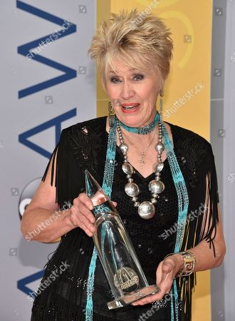 Stock Image of Janie Fricke arrives at the 50th annual CMA Awards at the Bridgestone Arena, in Nashville, Tenn