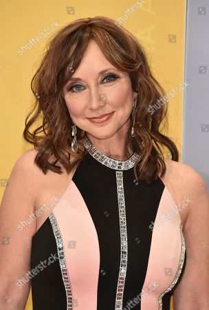 Pam Tillis arrives at the 50th annual CMA Awards at the Bridgestone Arena, in Nashville, Tenn