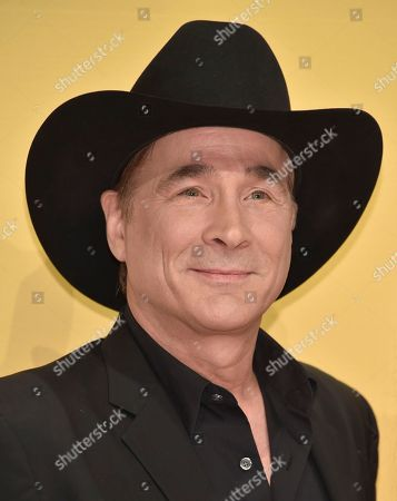 Clint Black arrives at the 50th annual CMA Awards at the Bridgestone Arena, in Nashville, Tenn