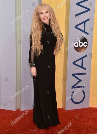 Stock Photo of Paulette Carlson arrives at the 50th annual CMA Awards at the Bridgestone Arena, in Nashville, Tenn