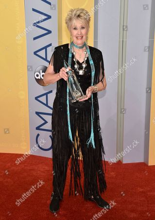 Editorial picture of 50th Annual CMA Awards - Arrivals, Nashville, USA