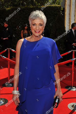 Stock Image of SEPTEMBER 18: Randee Heller arrives at the Academy of Television Arts & Sciences 63rd Primetime Emmy Awards at Nokia Theatre L.A. Live on in Los Angeles, California