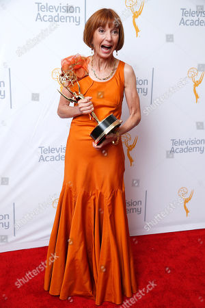 Jane Anderson at the 67th Primetime Emmy Awards, at the Microsoft Theater in Los Angeles