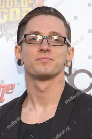 """Tyler """"Telle"""" Smith of The Word Alive attends the 6th Annual Revolver Golden Gods Award Show at Club Nokia on in Los Angeles, California"""