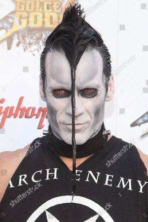 Doyle Wolfgang von Frankenstein of The Misfits attends the 6th Annual Revolver Golden Gods Award Show at Club Nokia on in Los Angeles, California