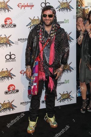 Stock Picture of Bam Margera attends the 6th Annual Revolver Golden Gods Award Show at Club Nokia on in Los Angeles, California