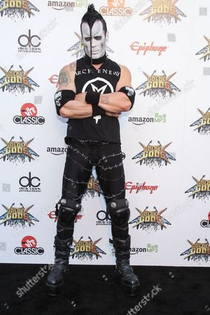 Guitarist Doyle Wolfgang von Frankenstein of The Misfits attends the 6th Annual Revolver Golden Gods Award Show at Club Nokia on in Los Angeles, California