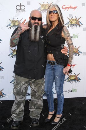 Singer Kirk Windstein of Crowbar attends the 6th Annual Revolver Golden Gods Award Show at Club Nokia on in Los Angeles, California