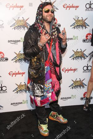 Bam Margera attends the 6th Annual Revolver Golden Gods Award Show at Club Nokia on in Los Angeles, California